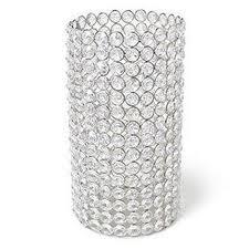 Party rental centerpiece vase crystal