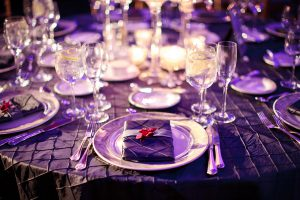Party rental linen wedding