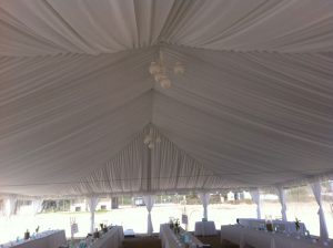 Party rental tent liner #2
