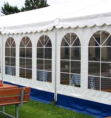Party rental tent wall