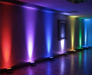 Party rental uplighting # 1