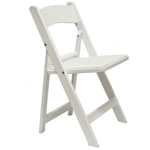Party rental wood folding chair miami