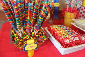 children party candy station