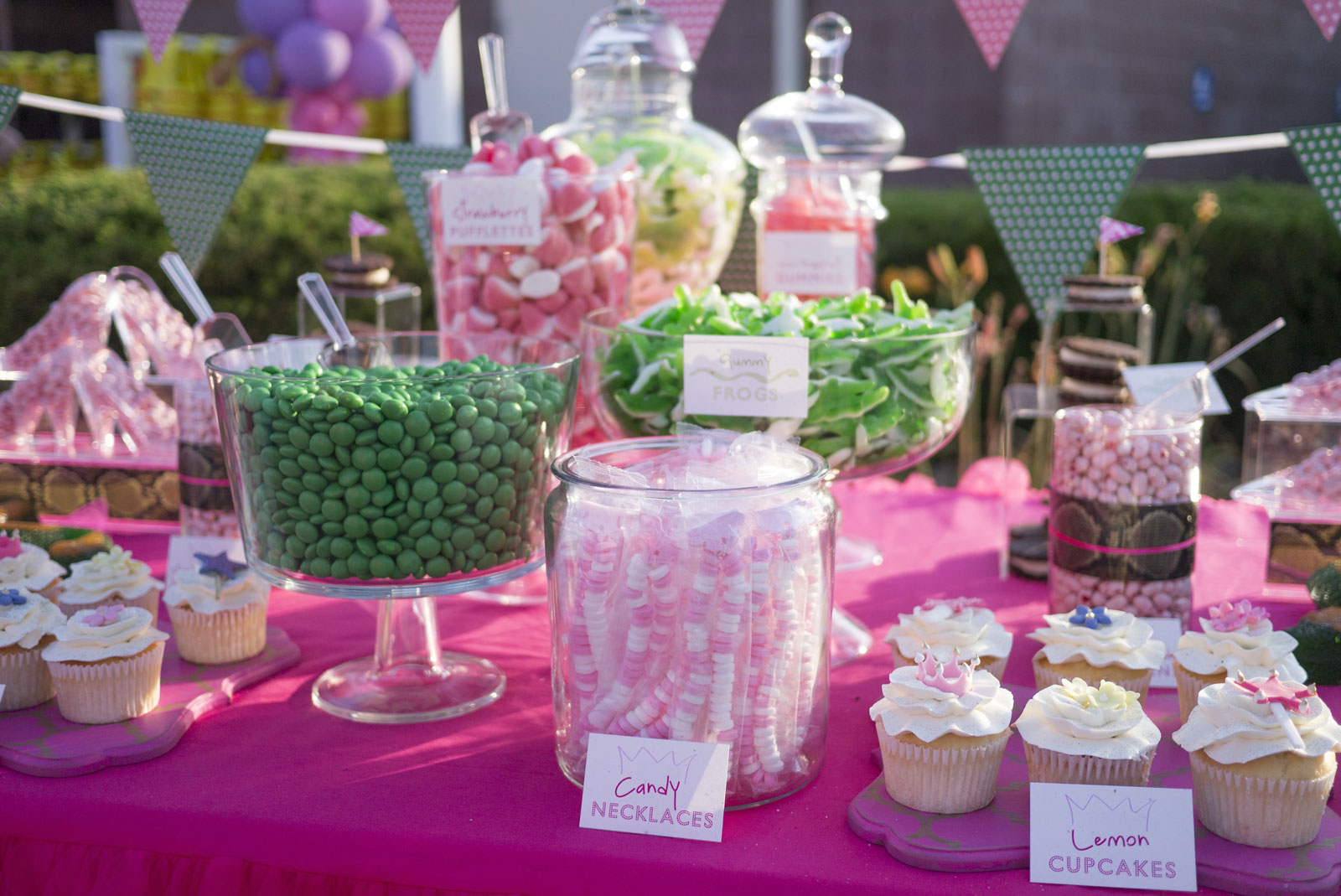 Dessert Candy Buffet Station Kid Cupcakes Cookie Party A Rivera
