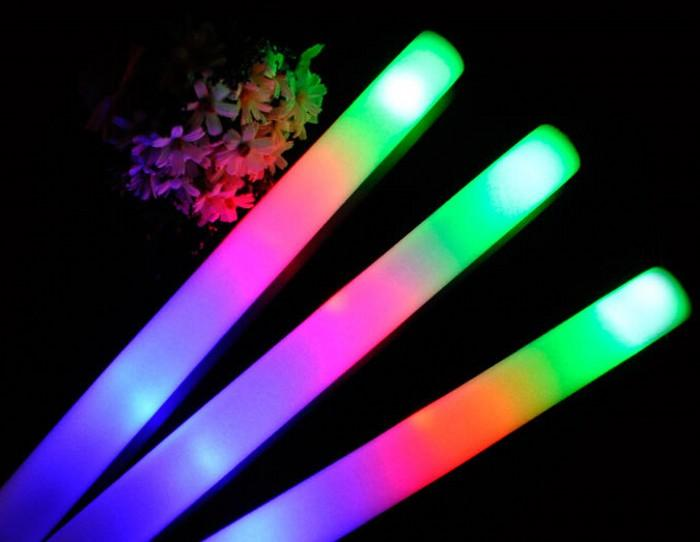 Neon LED foam sticks