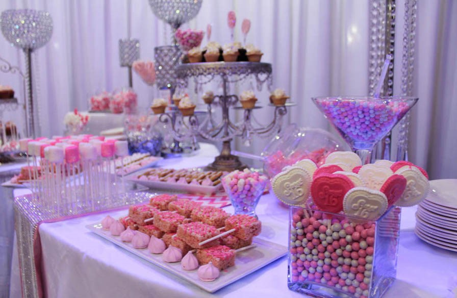 Dessert station and Candy Buffet Catering Miami