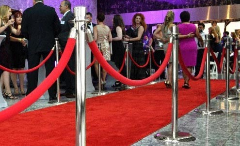 Rent Carpets and Stanchions for Miami Event