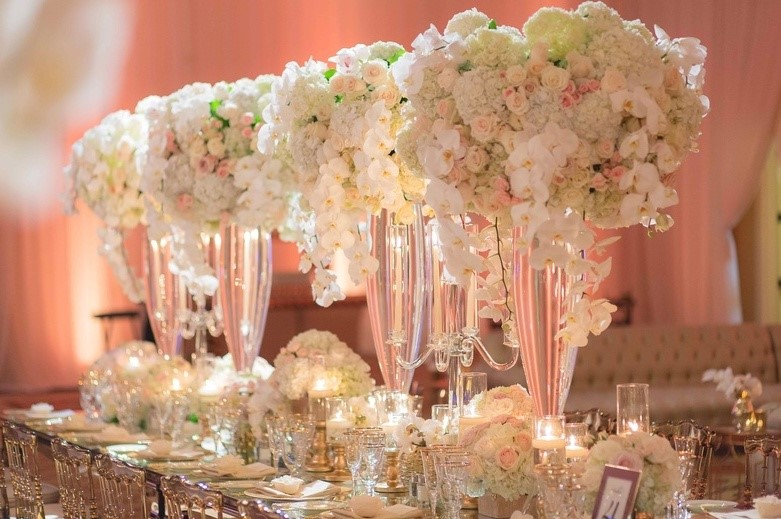 Rent Flowers and Decor for Miami Event