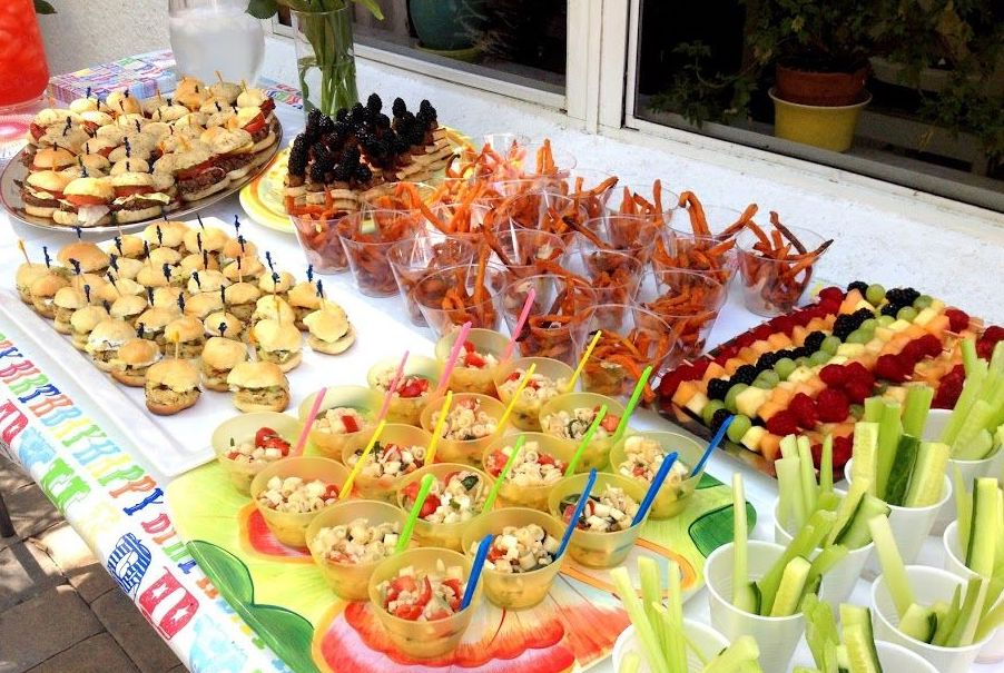 Kids Buffet Kids Party Catering Birthday Party Food