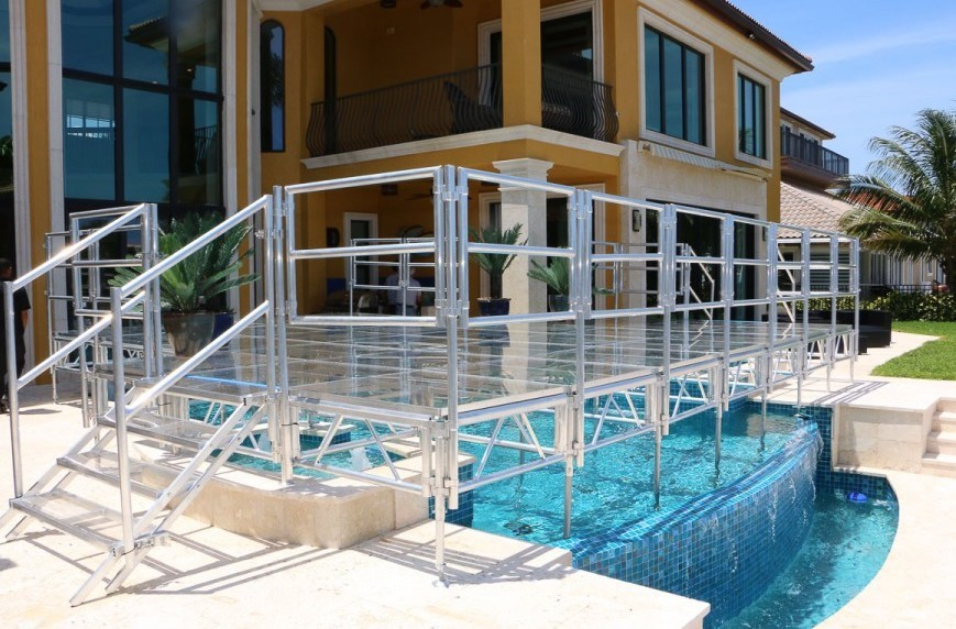 Rent Pool Covers for Miami Event
