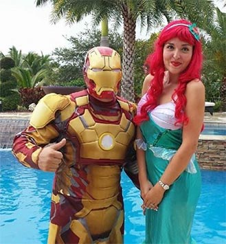 Character Birthday Party in Miami, Florida