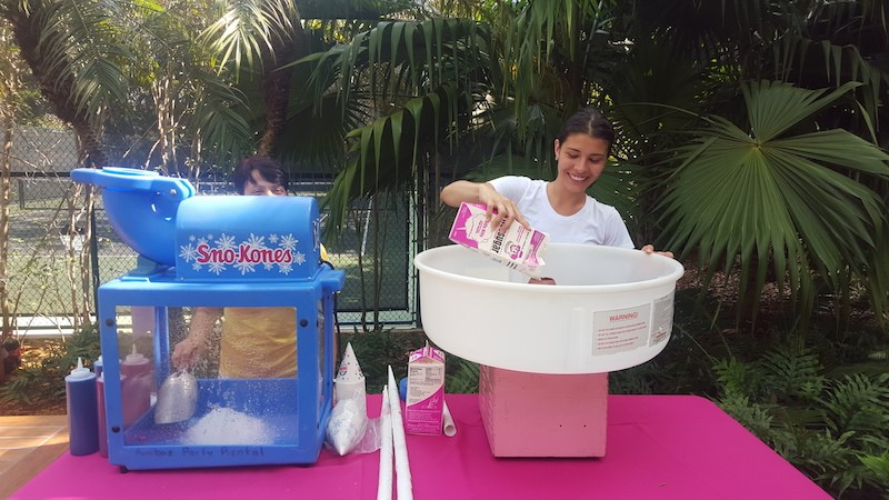 Miami Party Entertainment - Concession Machines