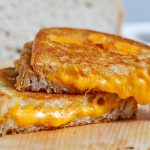 Our cheesy melted grilled cheese sandwiches are always a hit at children birthday parties