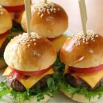 Kids love our mini cheese burger sliders