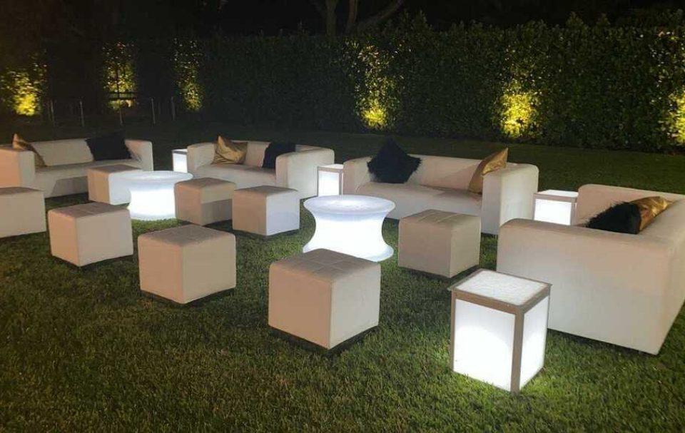 Lounge Furniture LED light up