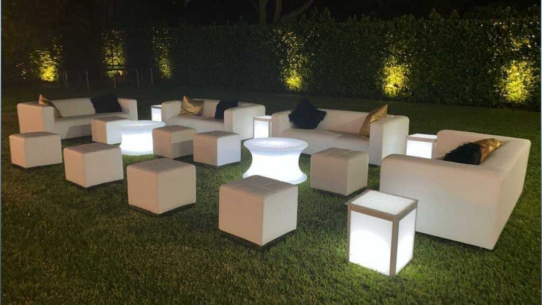 Lounge Furniture LED light up