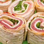 Our spiral deli wraps are a hit for children parties