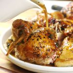 Roasted Chicken marinated with lemon